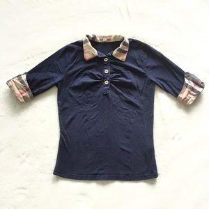 Burberry polo shirt made in England